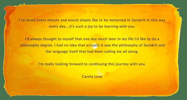 Carole Love LRS testimonial