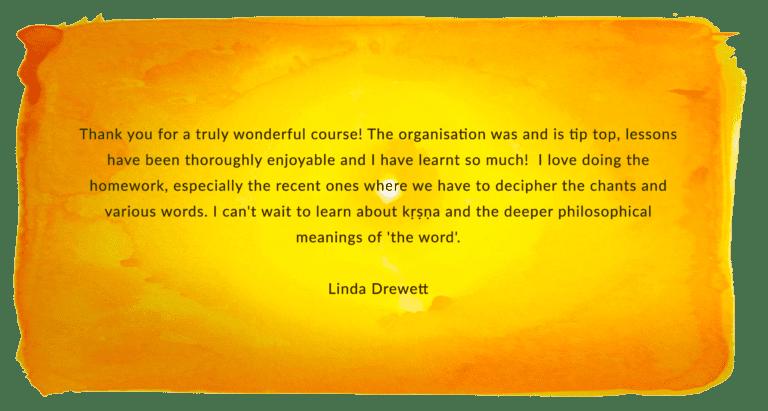 Linda Drewett LRS testimonial