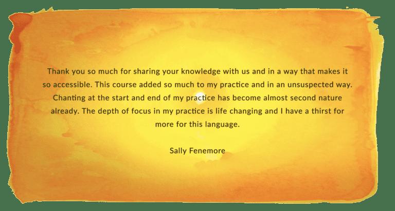 Sally Fennemore LRS testimonial